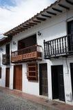 Construção colonial em Colômbia Fotografia de Stock