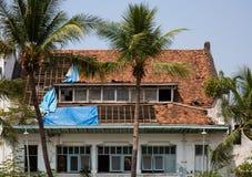 Construção colonial holandesa em Jakarta imagem de stock