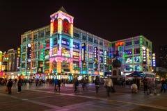Construção colorida em China Fotos de Stock
