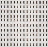 Construção com lotes das janelas Foto de Stock
