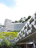A construção com molde protagoniza como a decoração Fotos de Stock