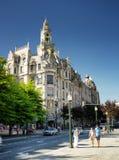 A construção com a torre de pulso de disparo em Liberty Square em Porto Foto de Stock Royalty Free