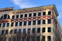 Construção comercial do estilo europeu do estilo antigo em America do Norte Fotos de Stock Royalty Free