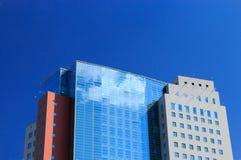 Construção comercial moderna Fotografia de Stock