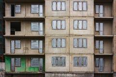 Construção concreta abandonada Fotografia de Stock