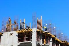 Construção concreta fundida no mesmo sítio Fotografia de Stock Royalty Free