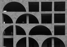 Construção conservada em estoque arquitetónica da foto imagem de stock royalty free