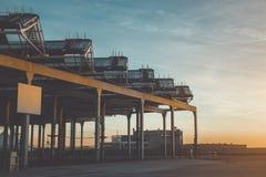 Construção contemporânea moderna para o esporte e parkour em Barcelona Imagens de Stock Royalty Free