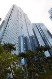 Construção coreana moderna Imagens de Stock Royalty Free
