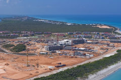 Construção Cuba do recurso Foto de Stock