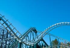 Construção curvada do coaster imagens de stock