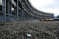 Construção curvada que submete-se à construção Foto de Stock Royalty Free