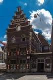 Construção da academia das artes de palco e do drama em Maastricht do centro fotos de stock royalty free