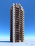 Construção da arquitetura ilustração stock