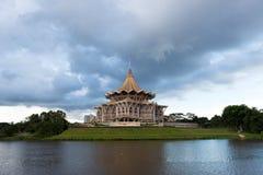 Construção da assembleia estadual de Sarawak Fotografia de Stock Royalty Free