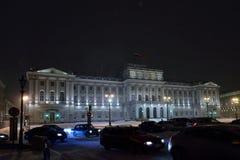 A construção da assembleia legislativa de durin de St Petersburg imagens de stock
