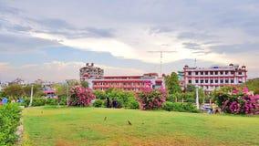 Construção da autoridade JDA do desenvolvimento de Jaipur fotos de stock royalty free