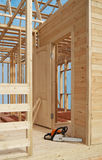 Construção da casa Foto de Stock