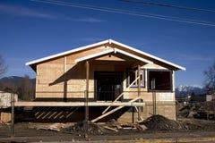 Construção da casa Imagem de Stock