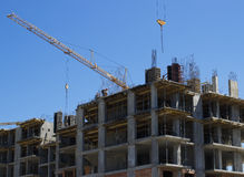 A construção da casa Imagens de Stock