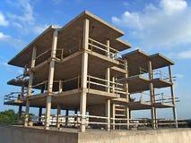 Construção da casa - antes Foto de Stock