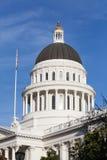 Construção da casa e do Capitólio do estado de Califórnia, Sacramento Imagem de Stock Royalty Free