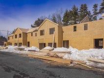 Construção da casa nova Imagem de Stock Royalty Free