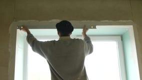 Construção da casa nova de Is Working On do construtor video estoque