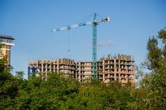 Construção da casa nova ou da construção Imagem de Stock