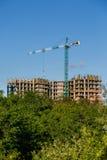 Construção da casa nova ou da construção Fotografia de Stock
