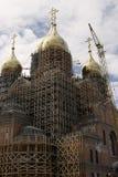 A construção da catedral do arcanjo Michael Fotografia de Stock Royalty Free