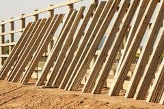 Construção 1695 da cerca Imagem de Stock
