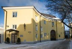 A construção da chancelaria do estado da república de Estônia Imagem de Stock Royalty Free