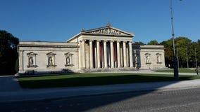 Construção da cidade de Munich Fotos de Stock Royalty Free
