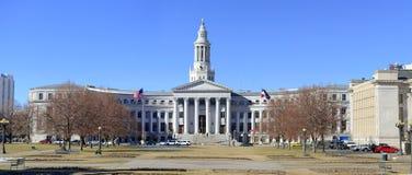 Construção da cidade e do condado, Denver, Colorado imagens de stock royalty free