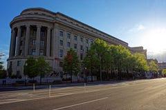 Construção da Comissão Federal do Comércio no Washington DC foto de stock royalty free