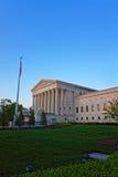 Construção da corte suprema do Estados Unidos imagem de stock