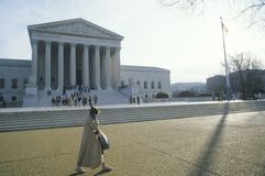 A construção da corte suprema do Estados Unidos, Washington, D C imagens de stock royalty free