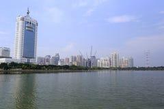 Construção da energia elétrica de Xiamen Foto de Stock Royalty Free
