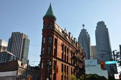 A construção da esplanada em Toronto, Canadá Foto de Stock Royalty Free
