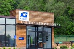 Construção da estação de correios do Estados Unidos fotografia de stock royalty free