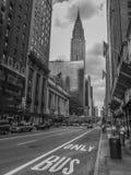 Construção da estação e do Chrysler de Grand Central, NY Fotografia de Stock