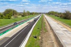 Construção da estrada Imagens de Stock Royalty Free