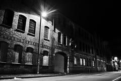 Construção da fábrica do abandono Fotos de Stock