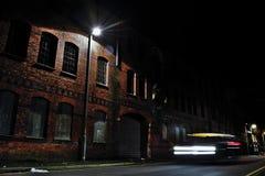 Construção da fábrica do abandono Imagem de Stock Royalty Free