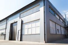 Construção da fabricação Território da planta imagem de stock royalty free