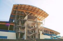 Construção da construção inferior complexa dos esportes Foto de Stock Royalty Free