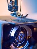 Construção da máquina de costura fotografia de stock