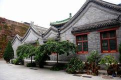 Construção da mesquita no Pequim China do estilo da arquitetura do chinês tradicional Imagem de Stock