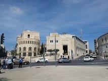 Construção da municipalidade do Jerusalém Fotos de Stock